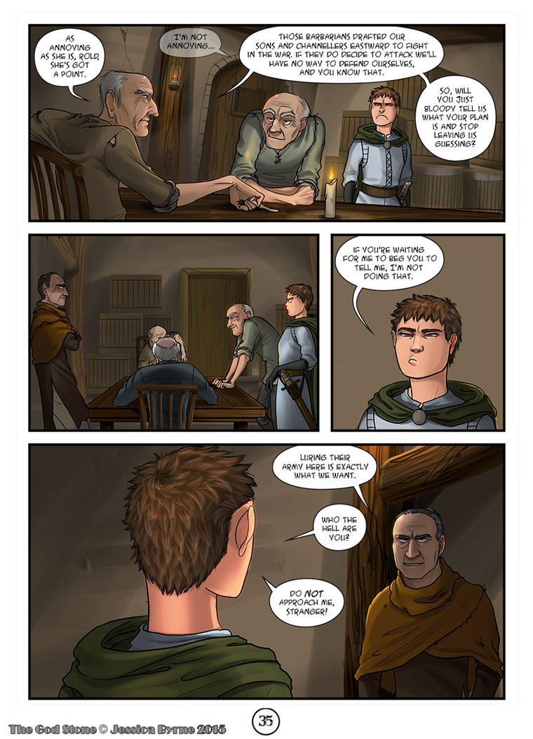 The God Stone: Ch. 2, p. 35 by Evilddragonqueen