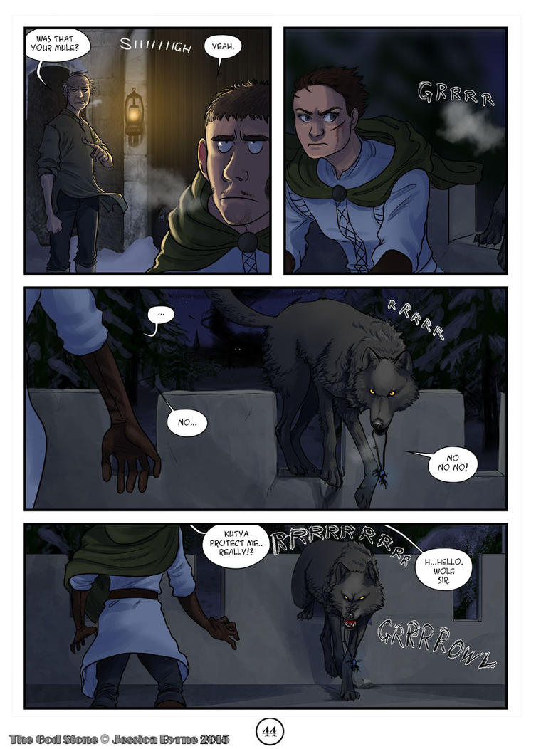 The God Stone: Ch. 2, p. 44 by Evilddragonqueen