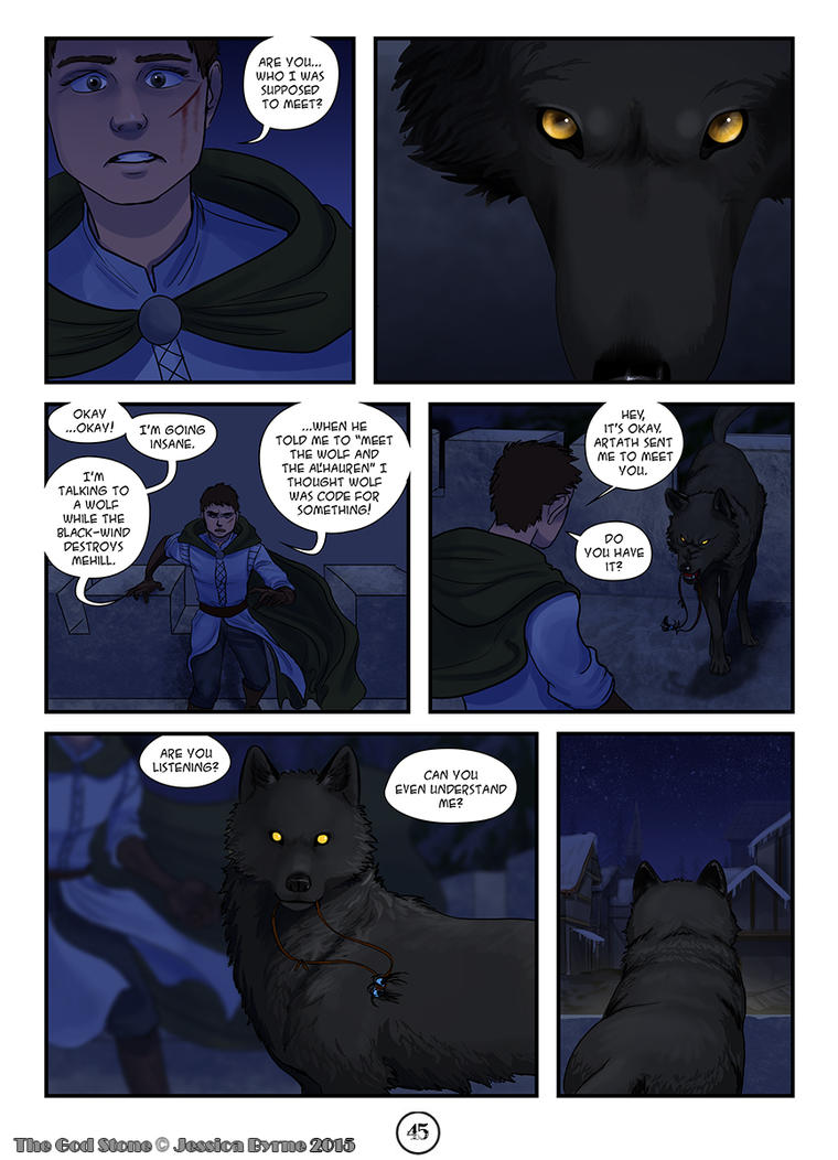 The God Stone: Ch. 2, p. 45 by Evilddragonqueen