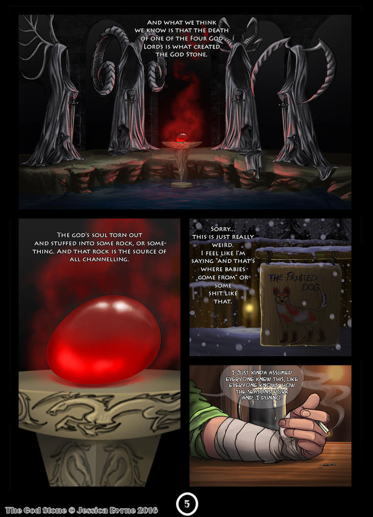 The God Stone: Prologue 5 by Evilddragonqueen