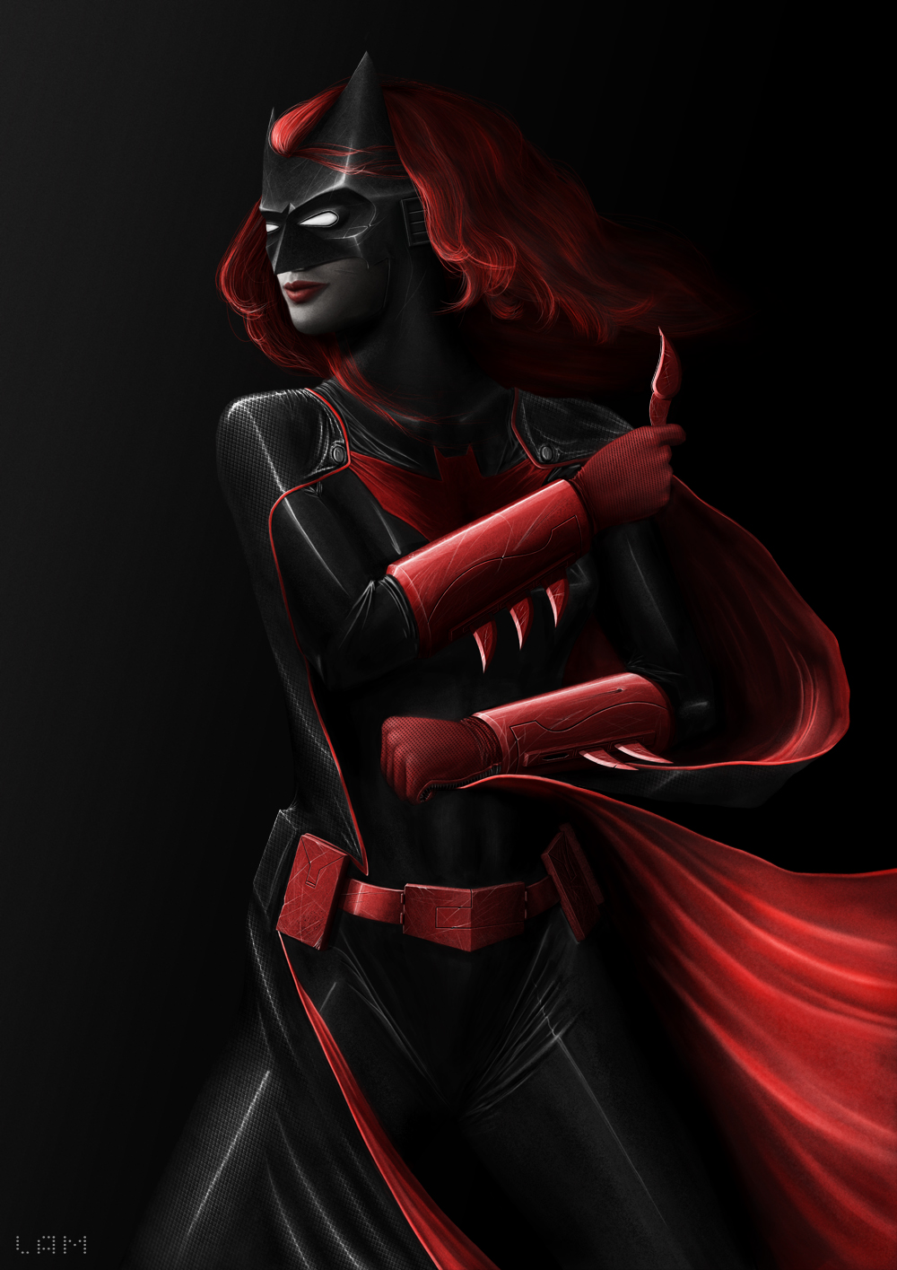 Batwoman by michaellam