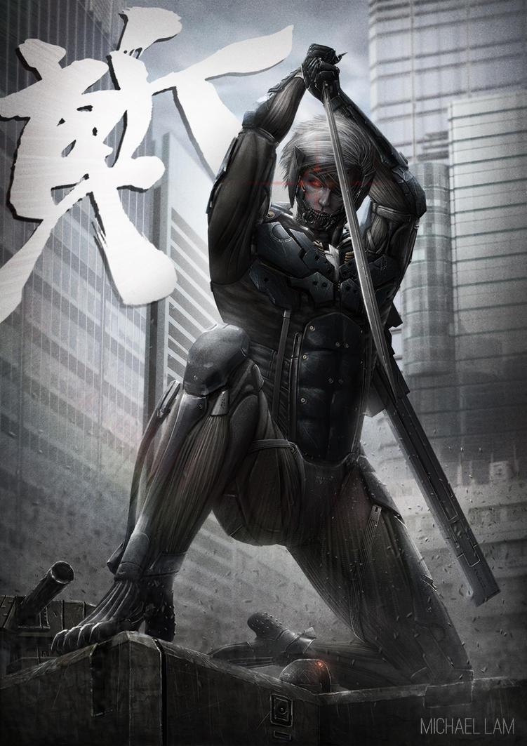 Metal Gear Rising - Raiden by michaellam