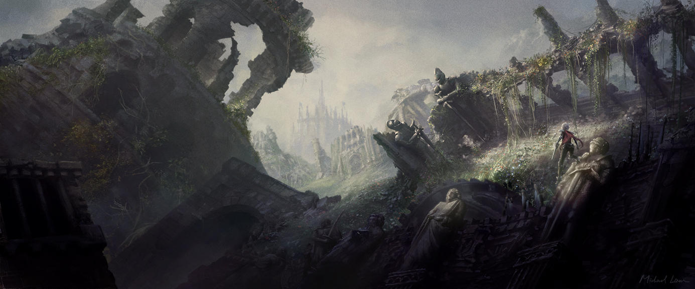 NOVA - Castle Ruins by michaellam