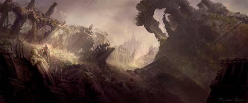 NOVA - Castle Ruins (alt.) by michaellam
