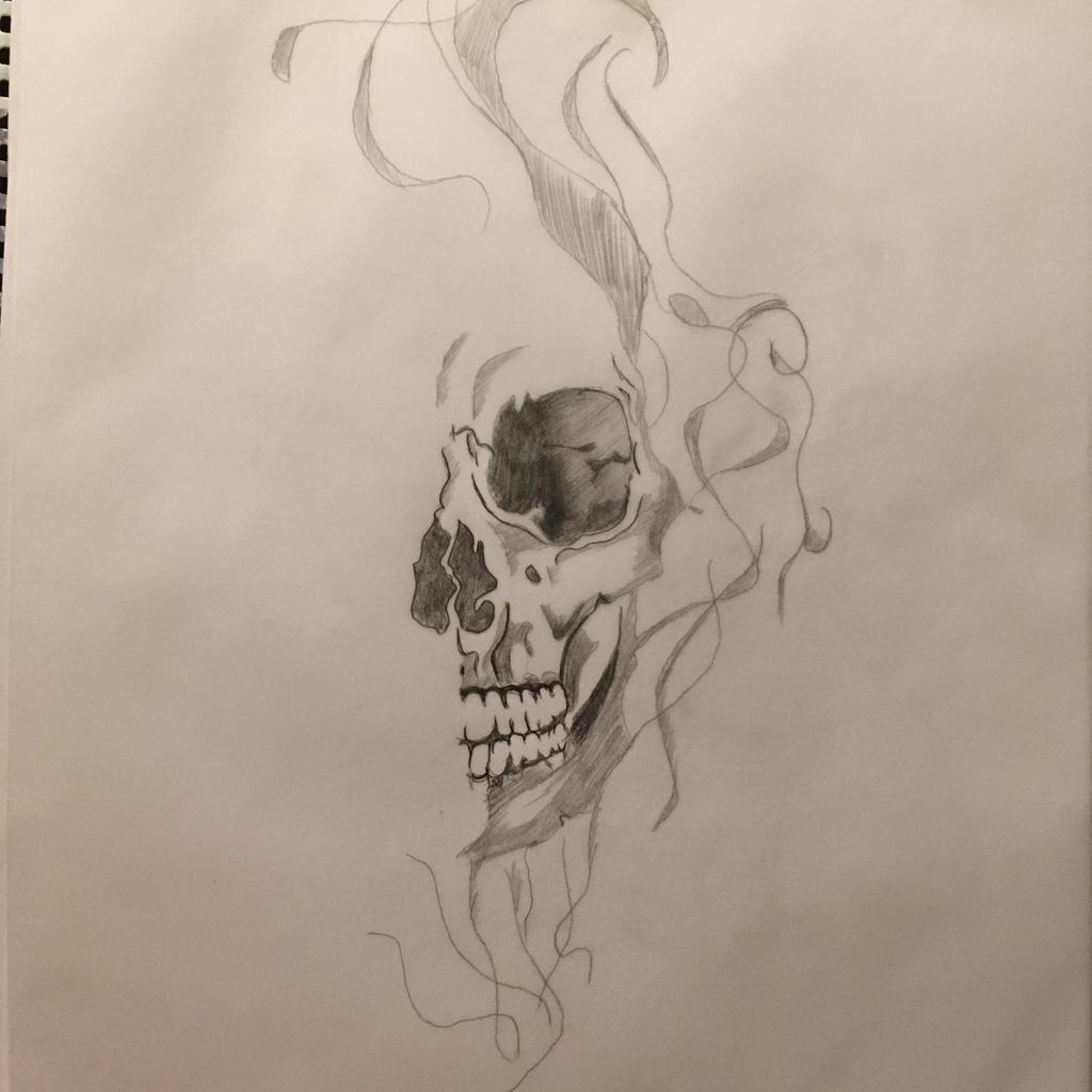 Skull n smoke by BeautifulHel on DeviantArt