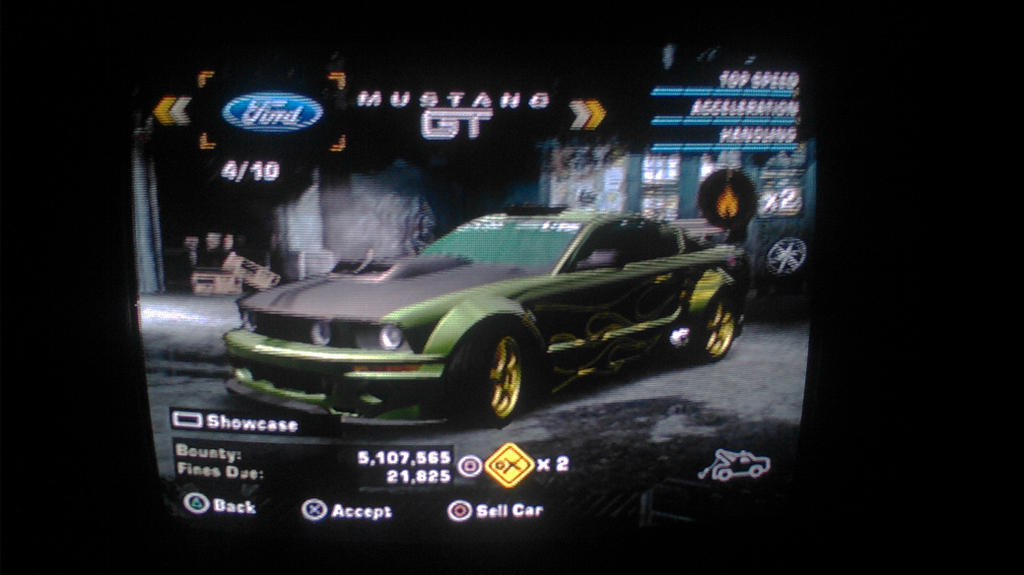 Need For Speed Most Wanted Ford Mustang Gt By Wolfpro