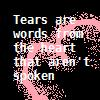 :icon: Tears by BloodRedMoonChild