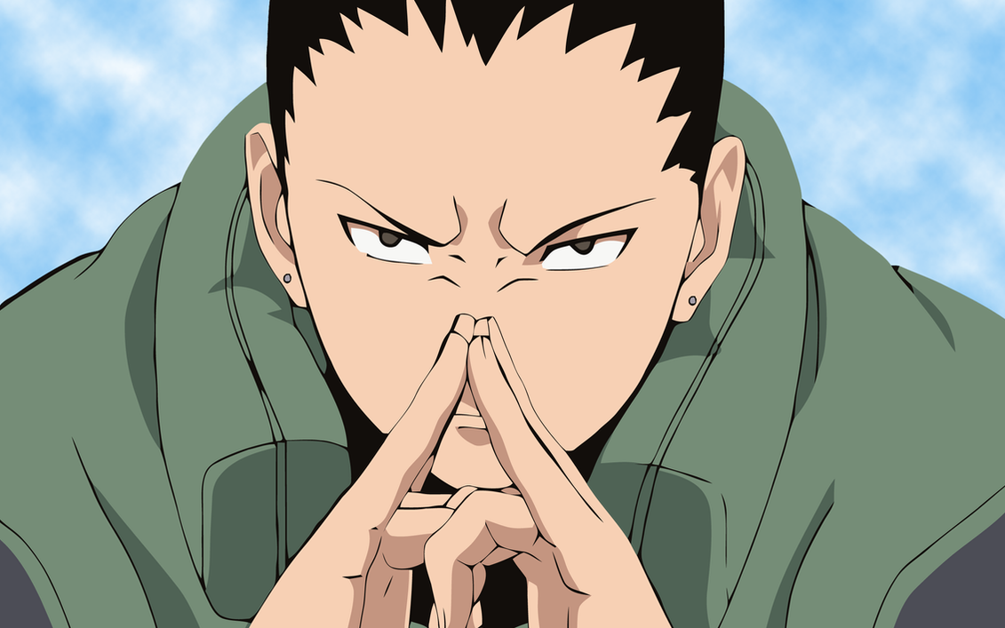 Shikamaru wallpaper 2 by schizosmurf