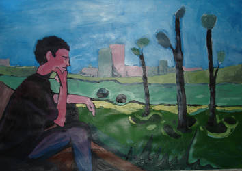 Impresja na temat Muncha. by patyczak