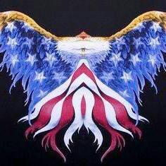 American Eagle in Flight by ricoramiro