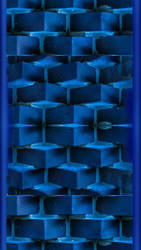 Blue Smartphone Background