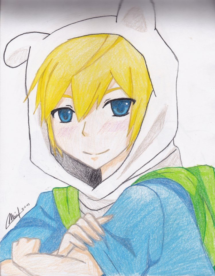 Finn the Human. (clearer ver.) by EatMySconessss