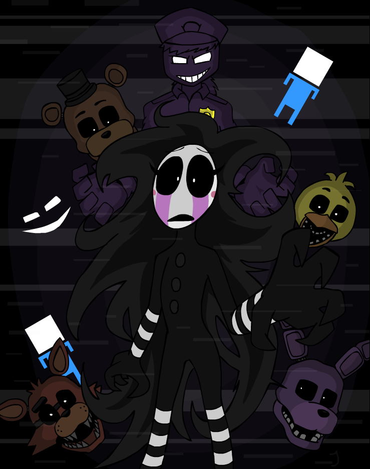 """hour version of """"i got no time"""", a fnaf 4 song, by the living ..."""