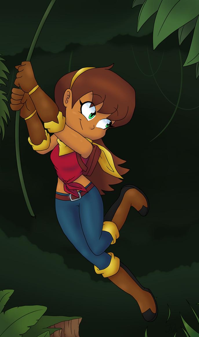 :Art Trade: Lorra The Adventurer! by TheJege12
