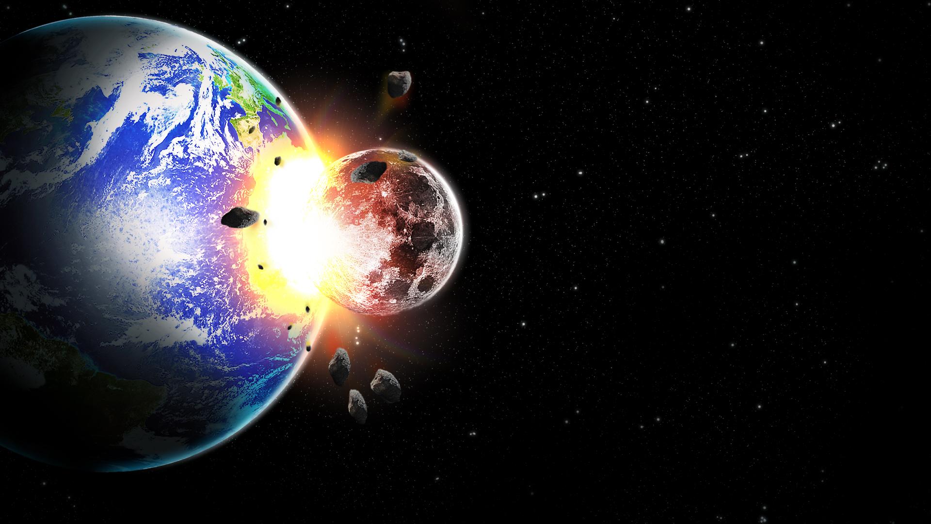 Moon Vs Earth V2 By Rah2005 On Deviantart