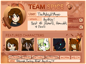 Art Fight 2020 - Team Spice