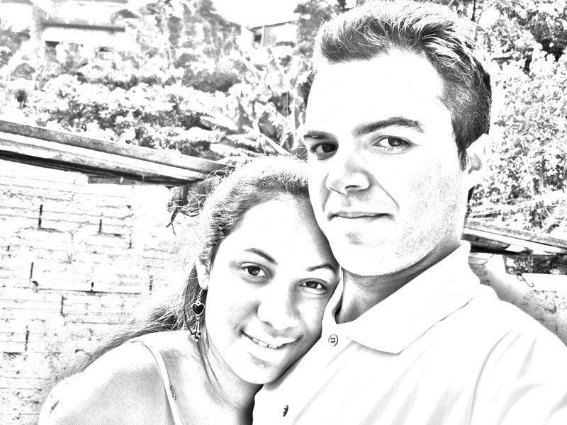 Retrato eu e ela
