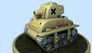 A Metal Slug Tank by Dwarfose