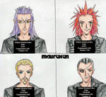 Organization XIII Mugshots-1