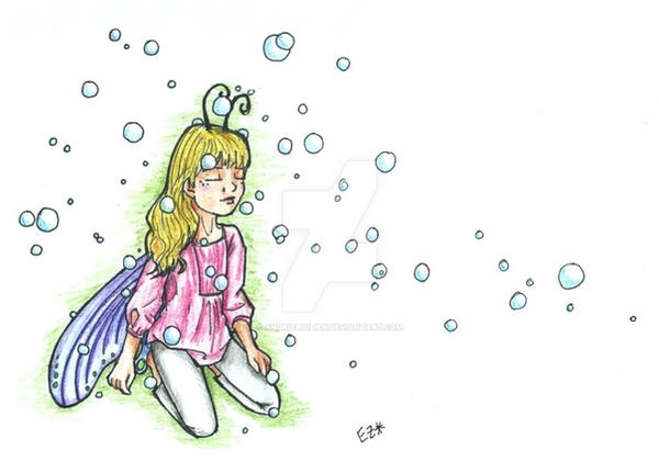 Bubble Fairy -15 by andrielisilien