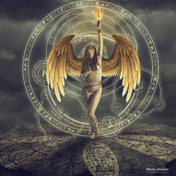 fire Angel by Brunastaduto