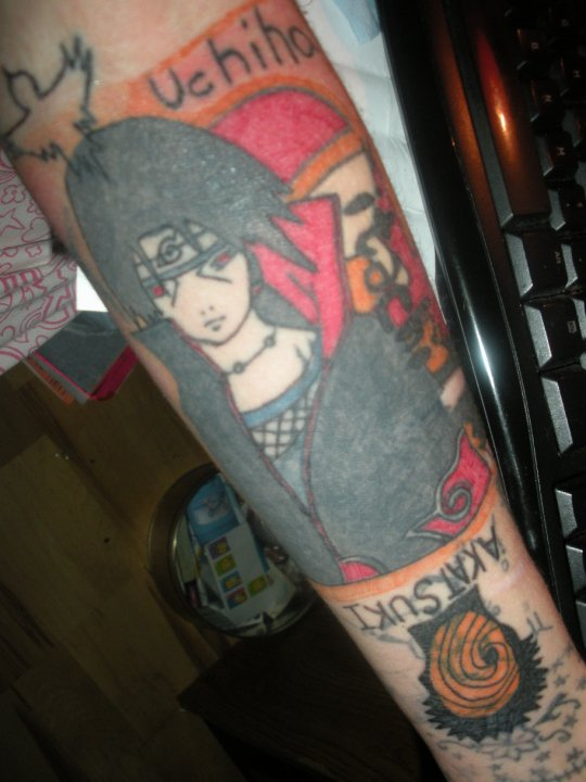 uchiha symbol tattoo - photo #30