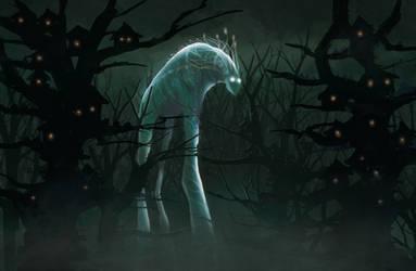 The light-Walker by elbardo