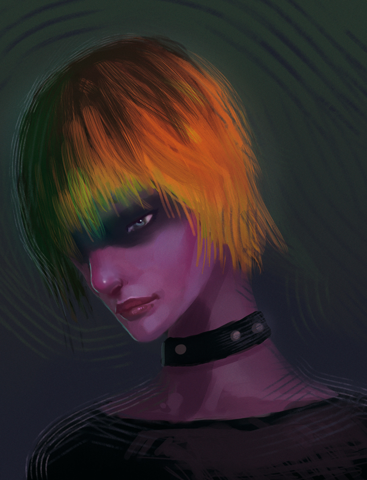 Cyborg-girl by elbardo