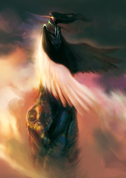 Angel or Demon by elbardo