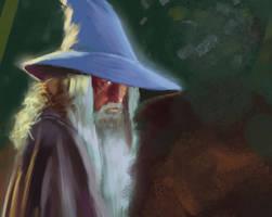 Gandalf by elbardo