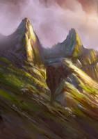 Mountains by elbardo