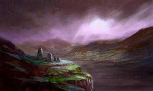 Forgotten ruins by elbardo