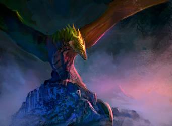 King dragon by elbardo