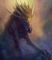 God Boar by elbardo