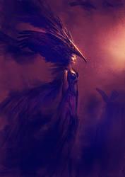 Queen of the crows by elbardo