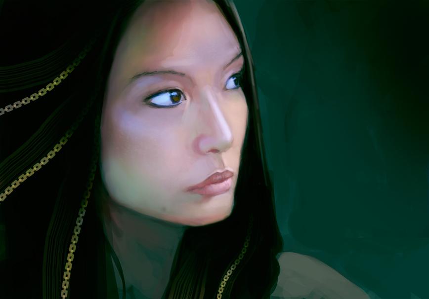Thuy Chung by elbardo