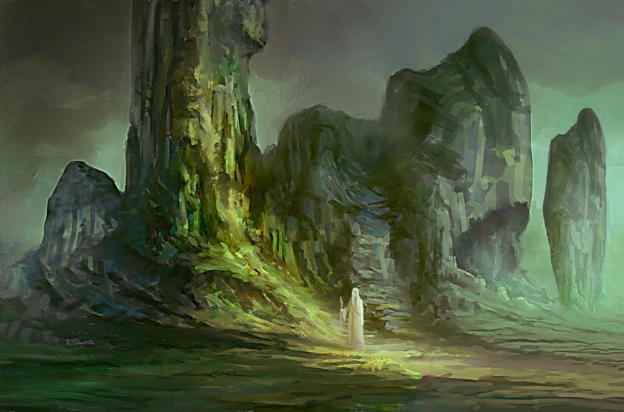 The Druid by elbardo