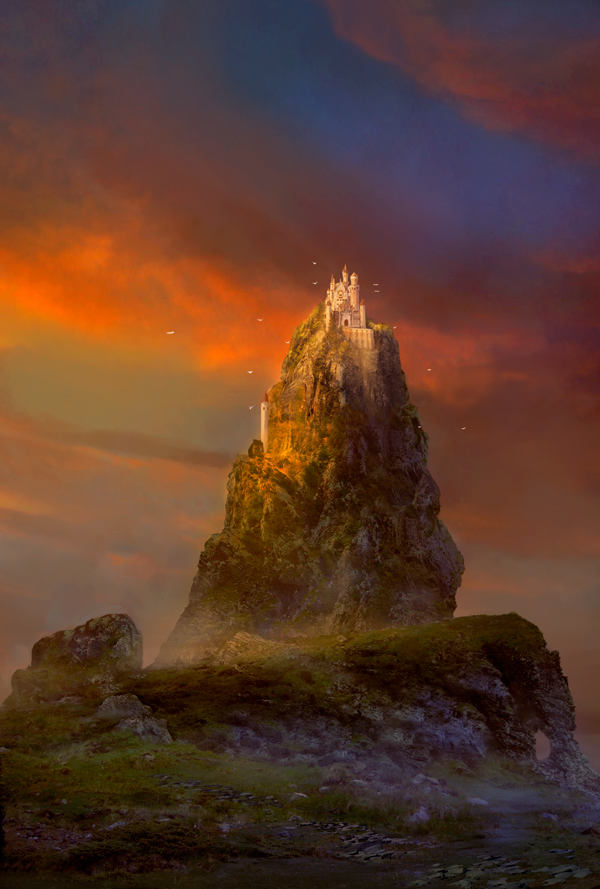 Castle on the top by elbardo