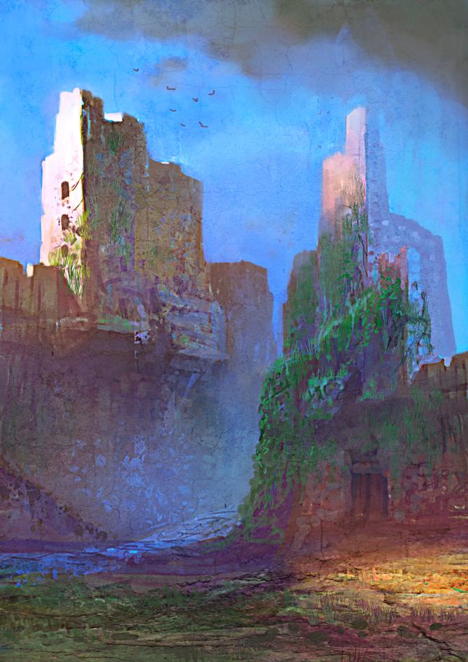 Ruins by elbardo
