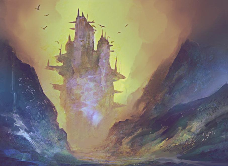 Castle by elbardo