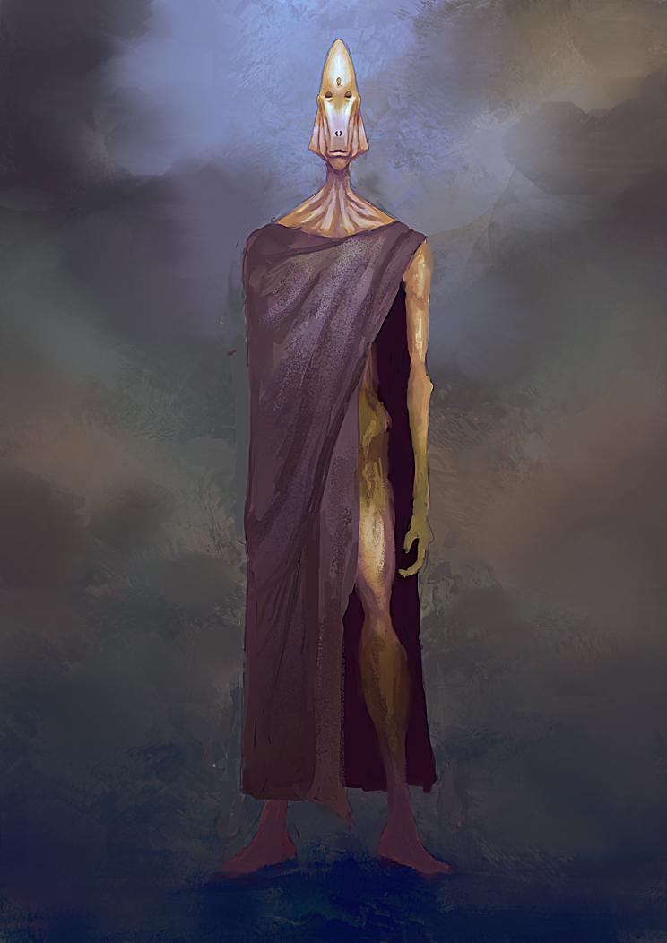 Wandering alien by elbardo