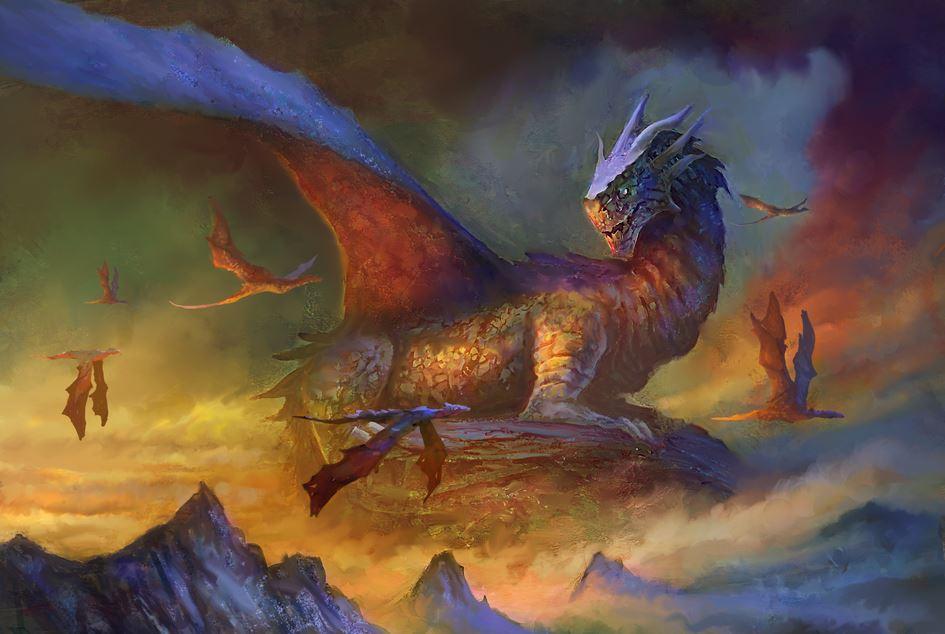 Dragons by elbardo