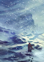 Across the mountains by elbardo