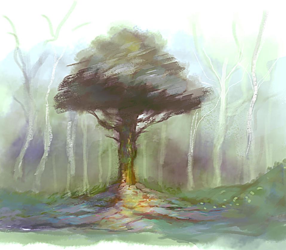 Tree by elbardo