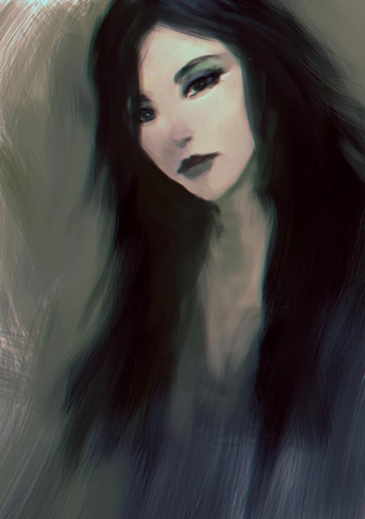 Girl by elbardo