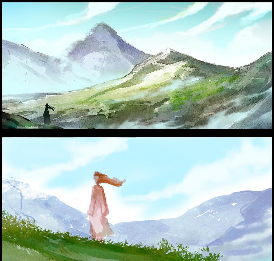 Landscapes by elbardo