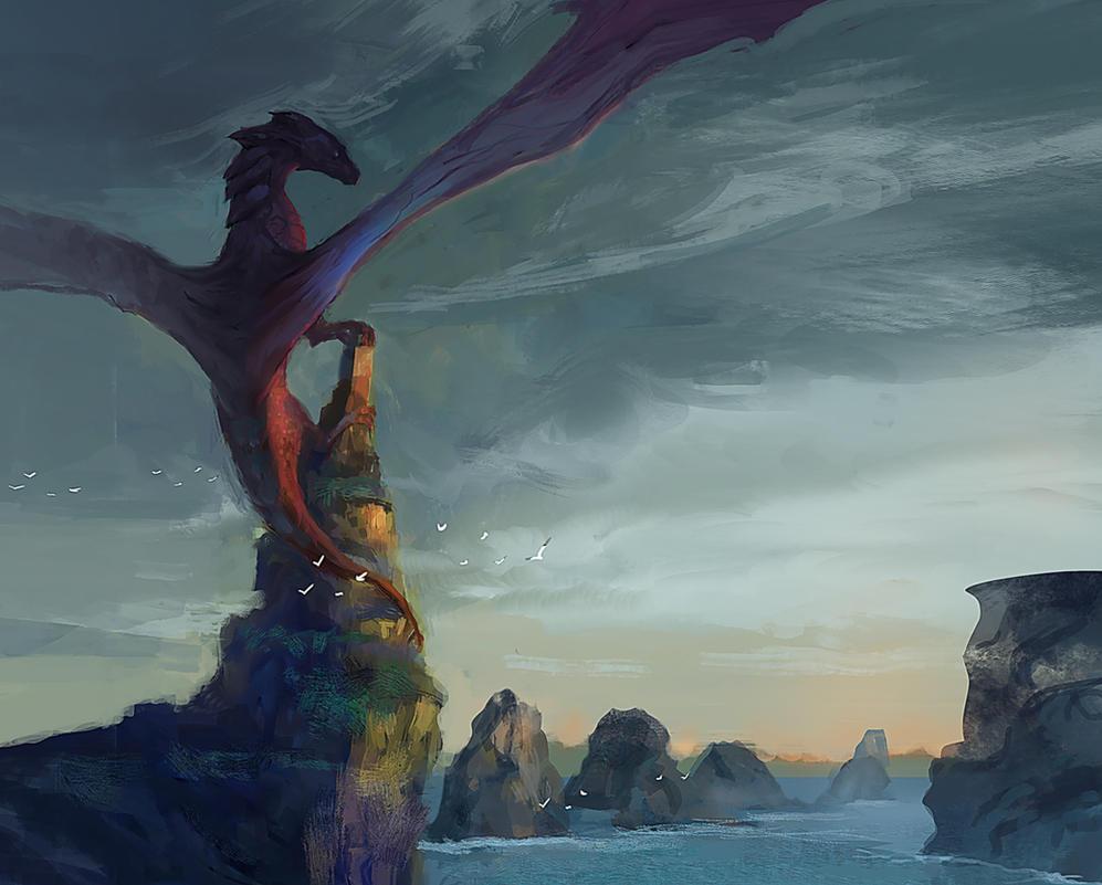 Watching the horizon by elbardo