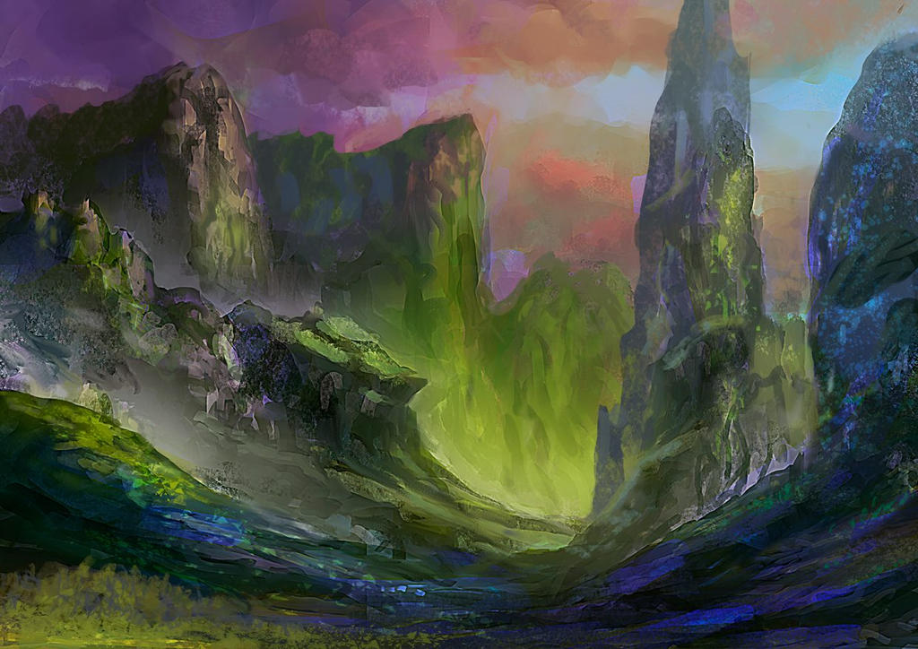 Landscape by elbardo