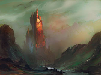Cliff citadel by elbardo