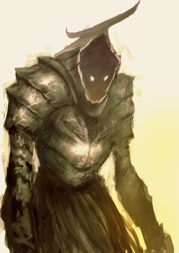Empty armour by elbardo